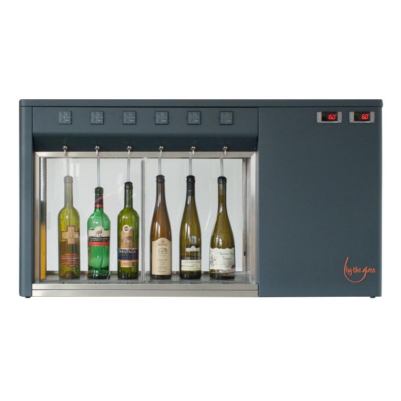 6 Bottle Wine Dispenser Machine From Wine Corner