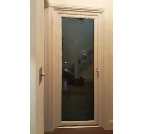 bespoke glazed door with frame 900x840