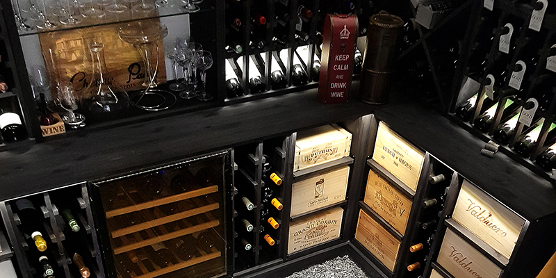 New Wine Cellar for Proud Collector